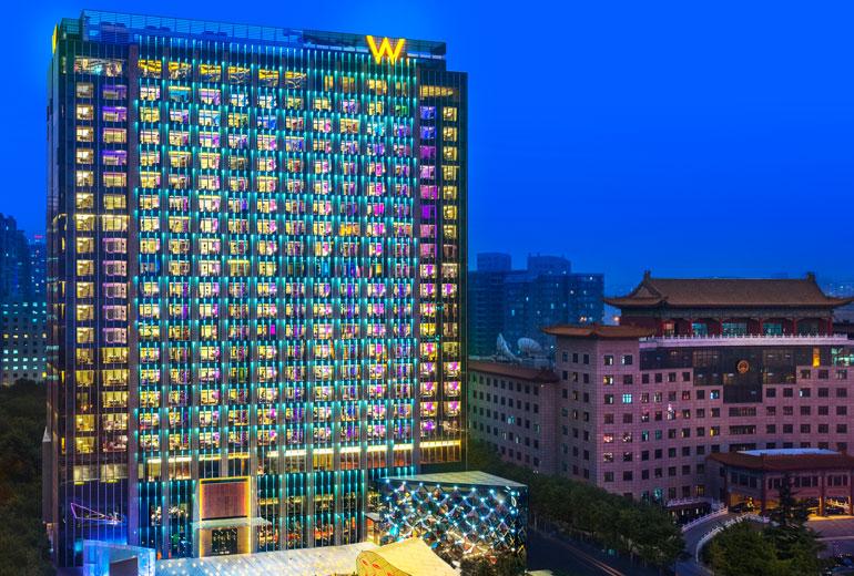 Exterior of the W Beijing Chang'an (Image Source: W Beijing Chang'an / starwoodhotels.com)