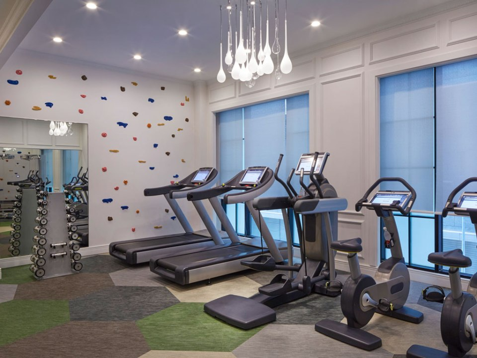 Machines in the gym (Image Source: Sofitel So Singapore / sofitel.com)