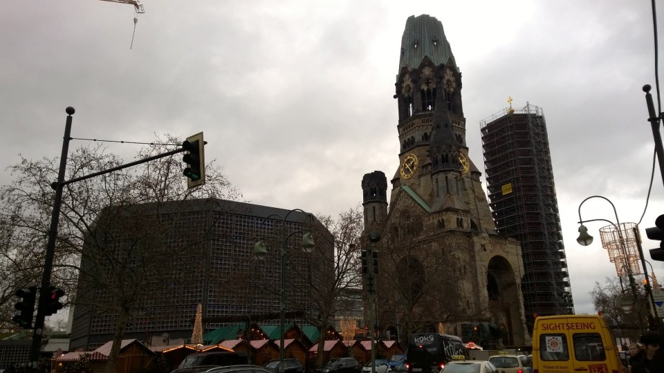 One of Berlins most interesting landmarks: The Kaiser Wilhelm Gedächtniskirche