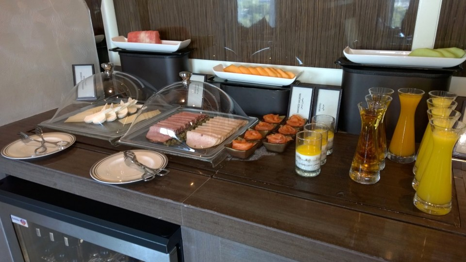 Breakfast Buffet in the Executive Lounge