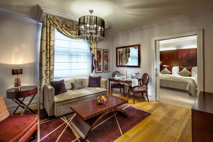 Like a suite: The Grand Deluxe Room at The Mark (Image Source: The Leading Hotels of the World / lhw.com)