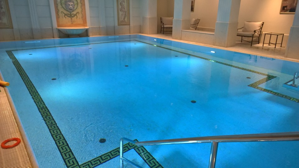 Pool at the Adlon Spa