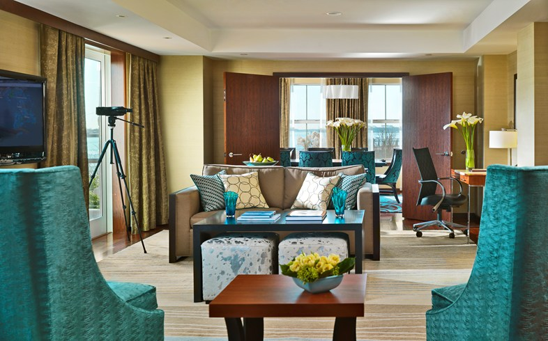 If you need a lot of space, you'll love the Presidential Suite (Image Soruce: The Leading Hotels of the World / lhw.com)