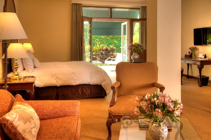 Even standard rooms are large and airy (Image Source: The Leading Hotels of the World / lhw.com)