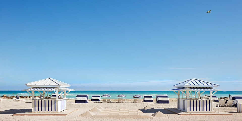 The Beach Club can be accessed privately (Image Source: The Miami Beach Edition / editionhotels.com)