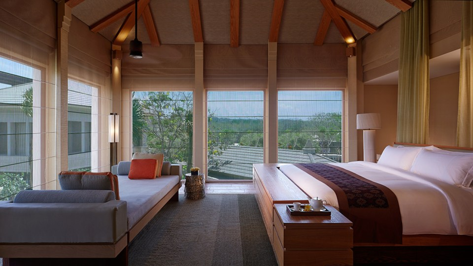 The design of the Ritz-Carlton Bali is inspired by local buildings (Image Source: The Ritz-Carlton Bali / ritzcarlton.com)
