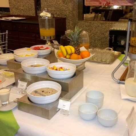 Some fresh fruits at the buffet