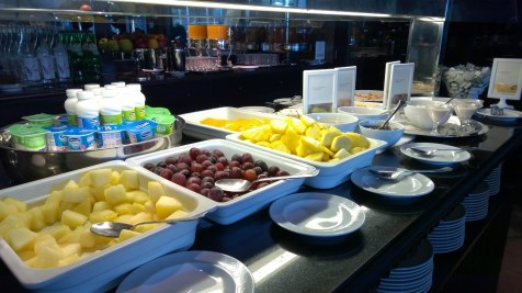 Fruits and healthy choises play an important role at the Grande Real Villa Italia