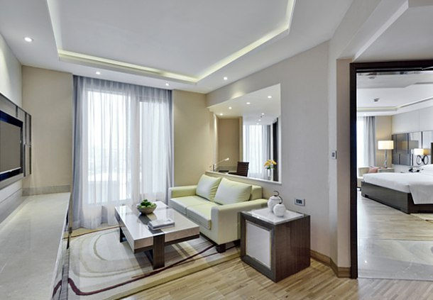 Suites include access to the Concierge Lounge