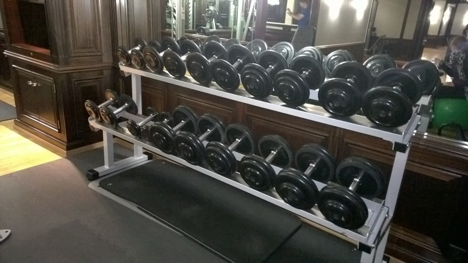 Huge choice of free weights