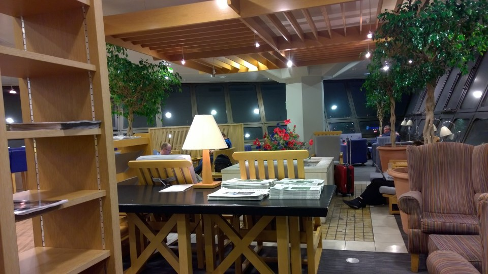Seating Area in the lounge