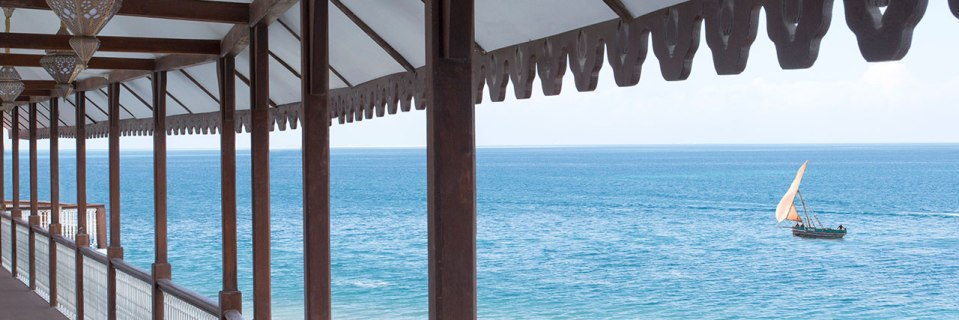 All public areas got stunning views on the Indian Ocean (Image Source: Park Hyatt Zanzibar / hyatt.com)