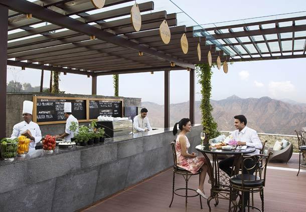 Wisteria Deck (Image Source: JW Marriott Mussooire Walnut Grove Resort / marriott.com)