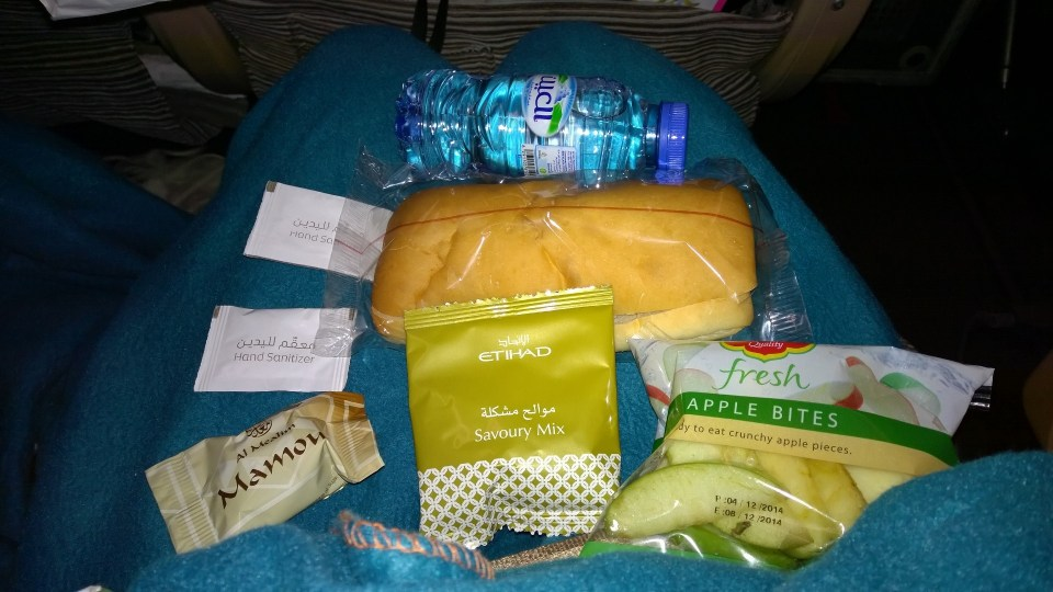 The Express Snack is a great idea for short nighttime flights