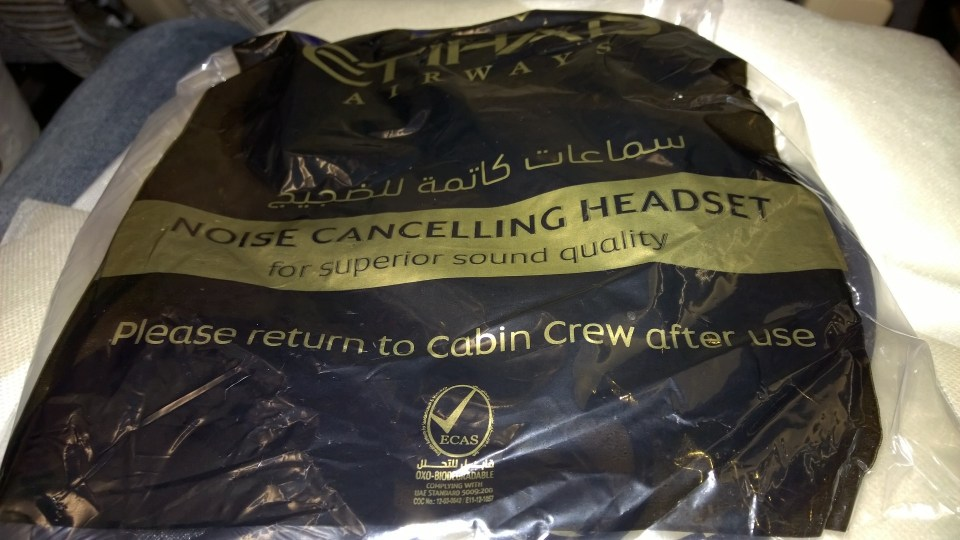 A special treat: Noise cancelling headphones