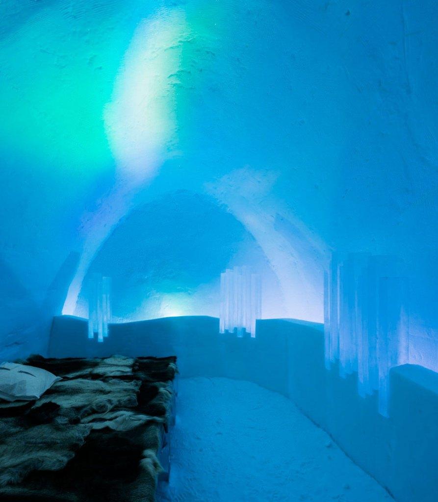 Northern Lights Room (Image Source: Icehotel / icehotel.com)