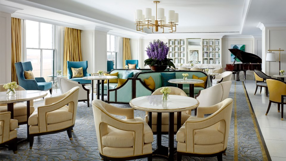 Palm Court (Image Source: The Langham Sydney / langhamhotels.com)