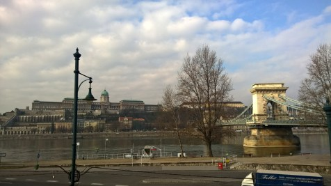 Running in Budapest