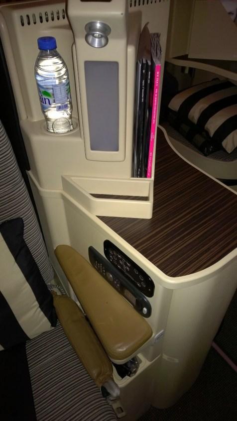 Etihad Airways Business Class Entertainment