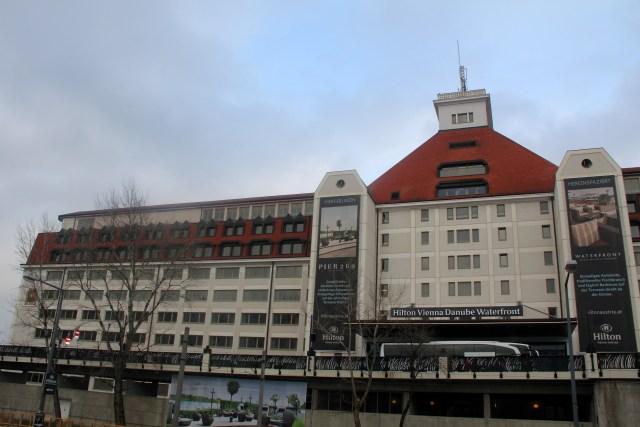 Hilton Vienna Danube Waterfront Exeterior