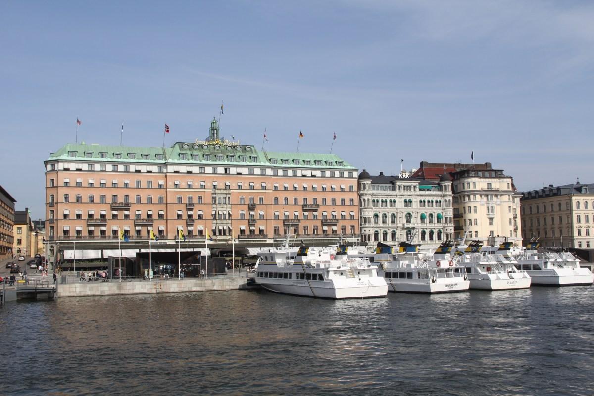 Grand Hotel Stockholm Facade