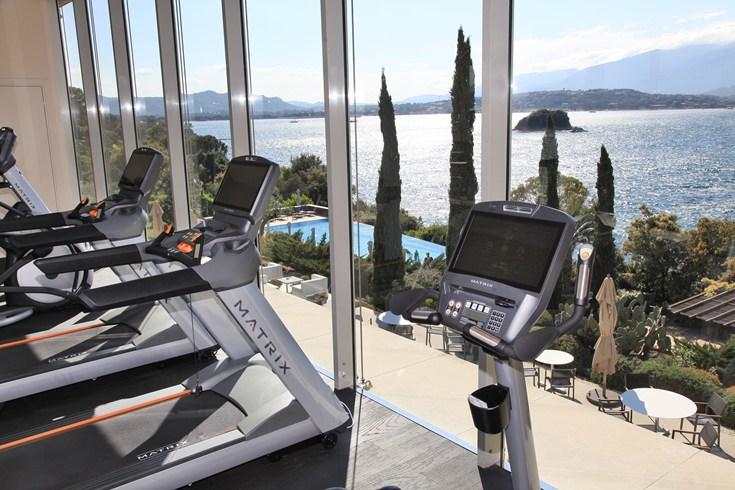 Gym (Image Source: Casaldelmar Porto Vecchio / casadelmar.fr)