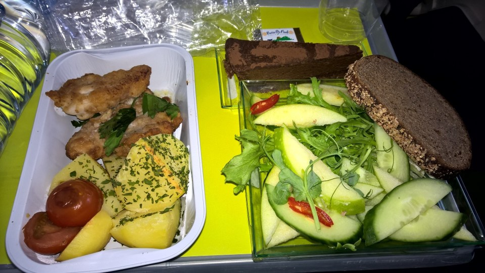Air Baltic Meal