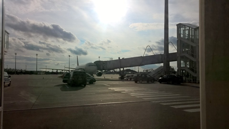 Tarmac View Atlantic Lounge Munich