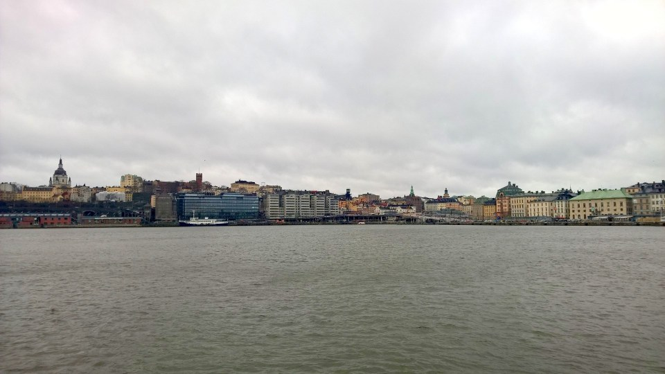Views of Stockholm on Skeppsholem