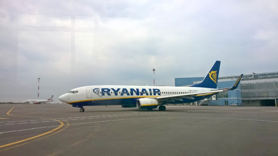 Ryanair placs a key role at Vilnius Airport