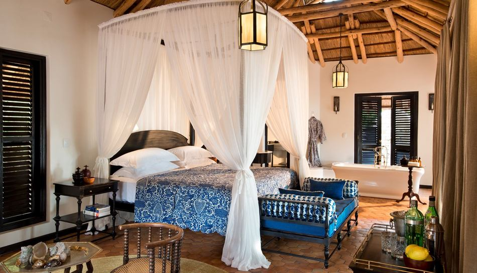 Bedroom (Image Source: &Beyond Benguerra Island / andbeyond.com)