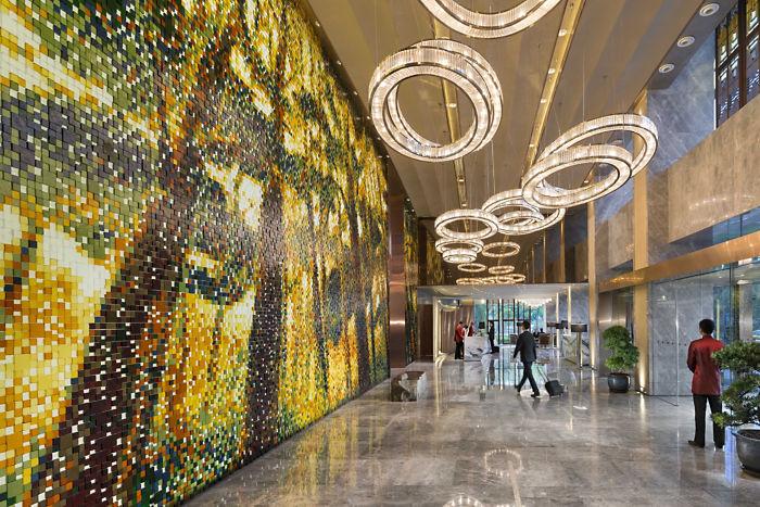 Mandarin Oriental Shanghai Lobby