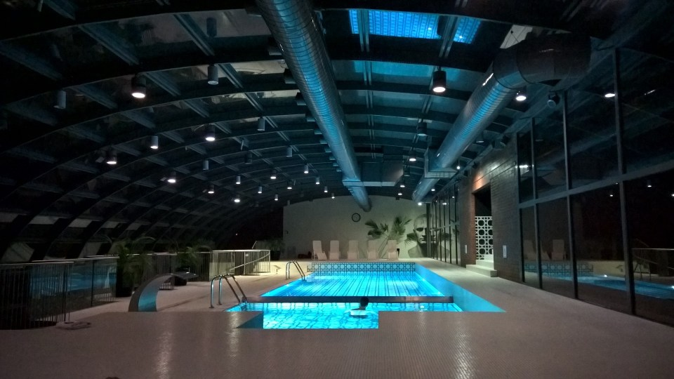 Pool at City Park Hotel Poznan