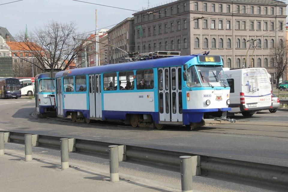 Tram Riga
