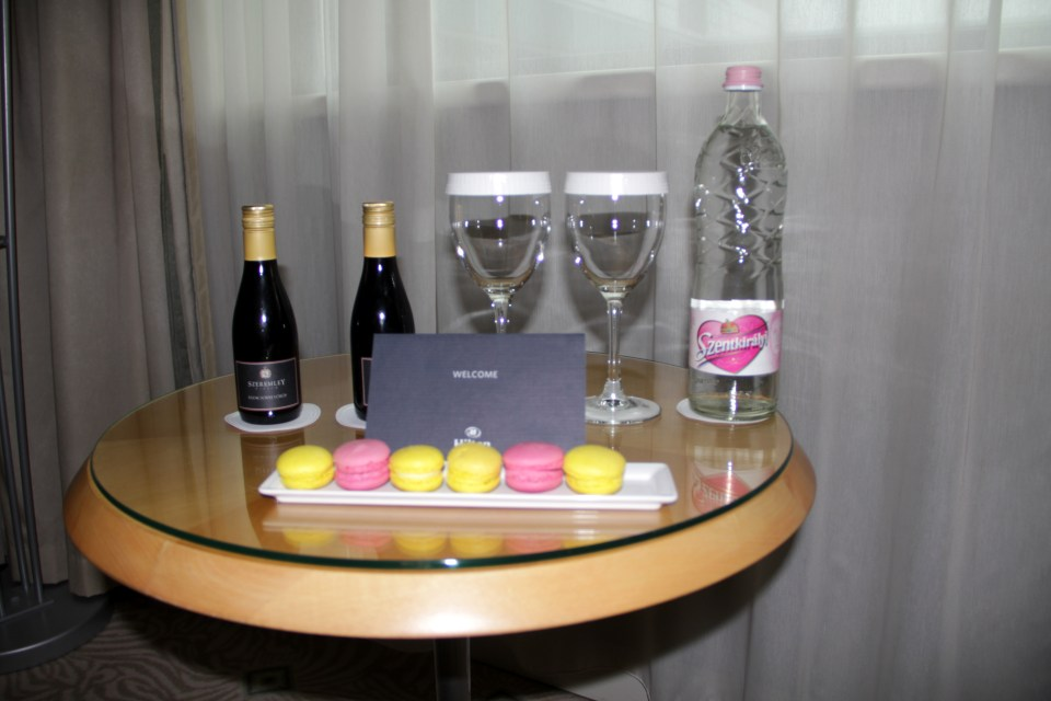 Welcome Treatment at Hilton Budapest City