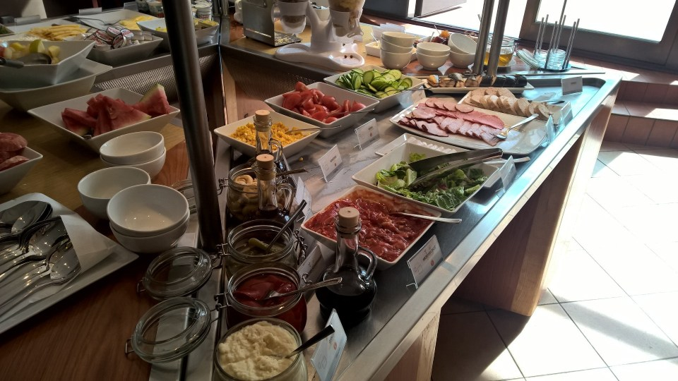 Novotel Szczecin Breakfast