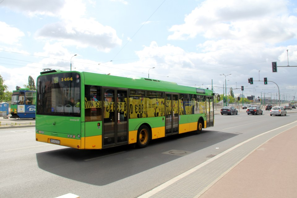 Buses in Poznan are mostly modern and convenient