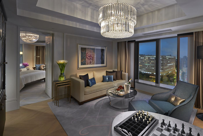 City Suite (Image Source: Mandarin Oriental Taipei / mandarinoriental.com)