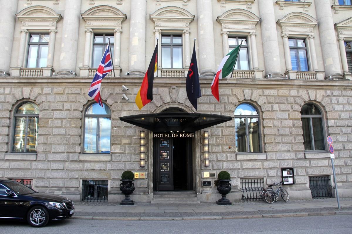 Hotel de Rome Berlin Exterior