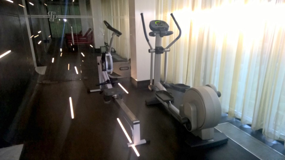 The gym at Platinum Palace Wroclaw was a pure disappointment