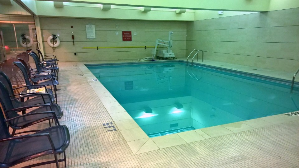 Pool at Hilton Boston Back Bay