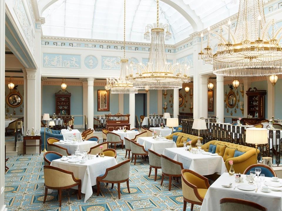 Restaurant Céleste The Lanesborough London