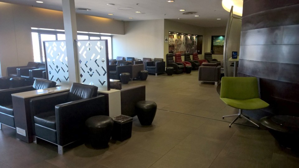 SAA Baobab Business Class Lounge Johannesburg