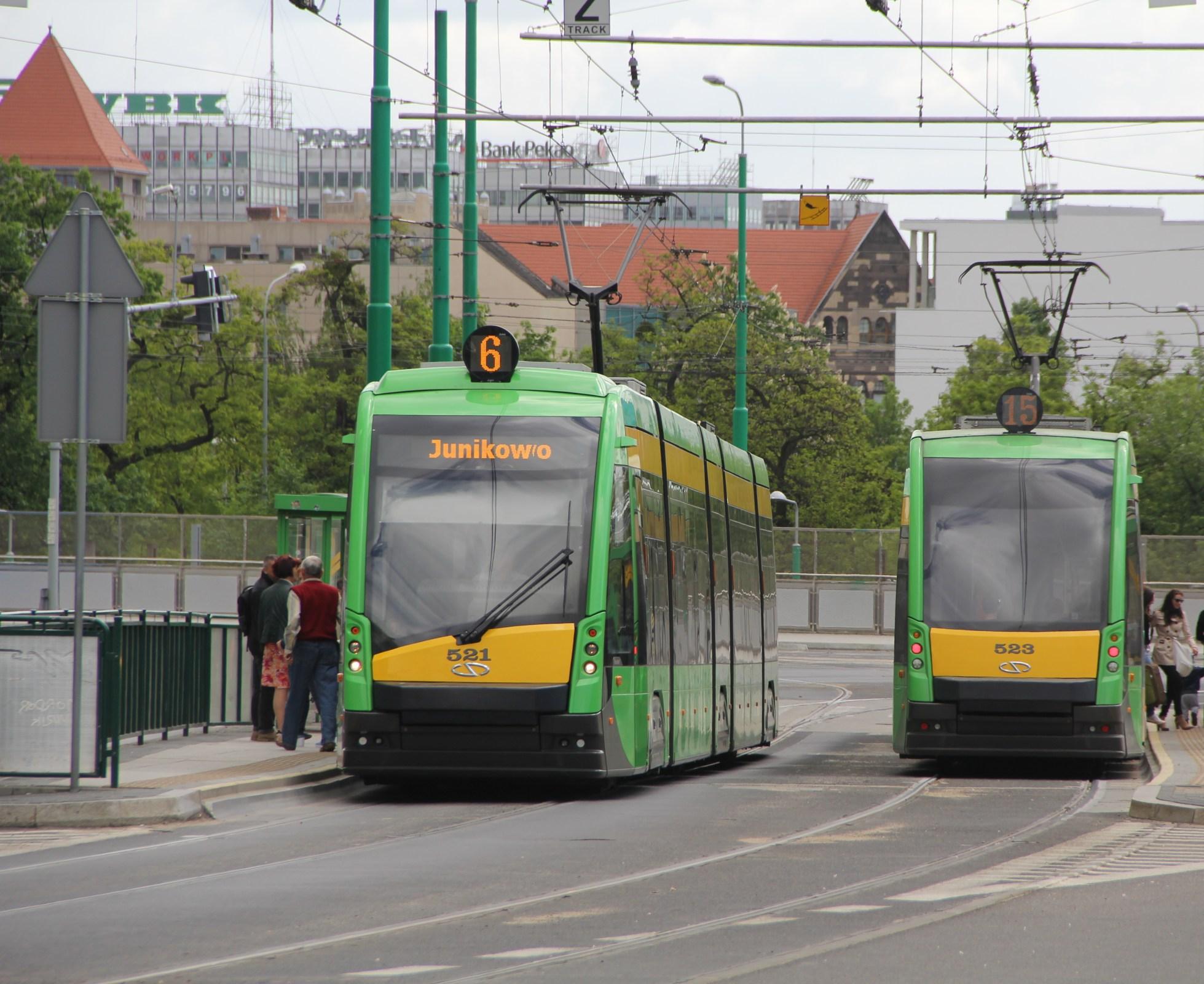 Tram Poznan