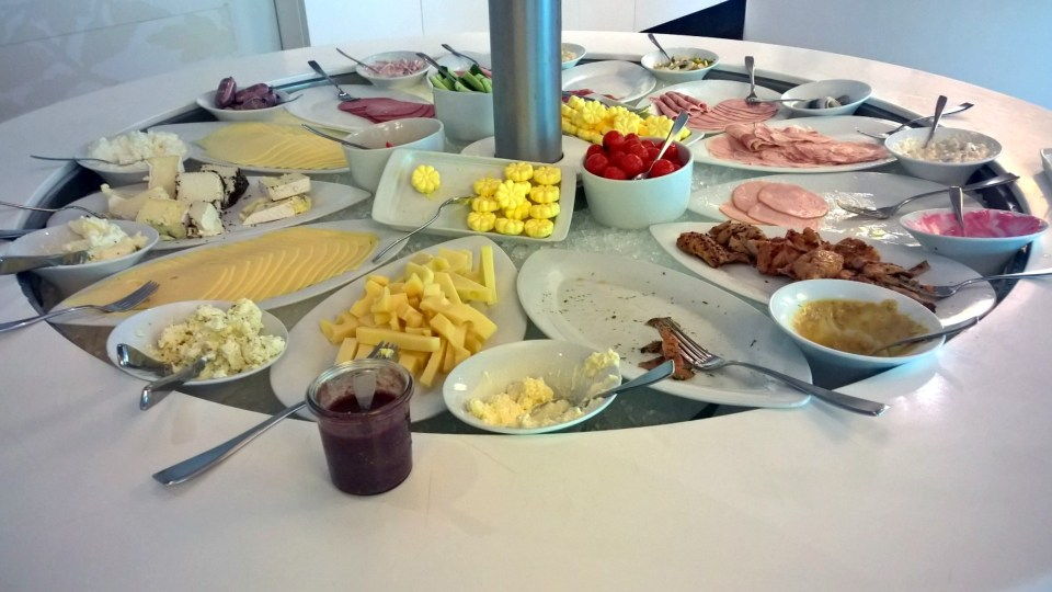 Swissôtel Bremen Breakfast