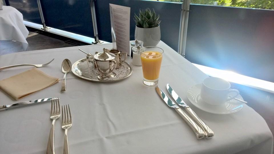 Breakfast at Hotel am Schlossgarten Stuttgart