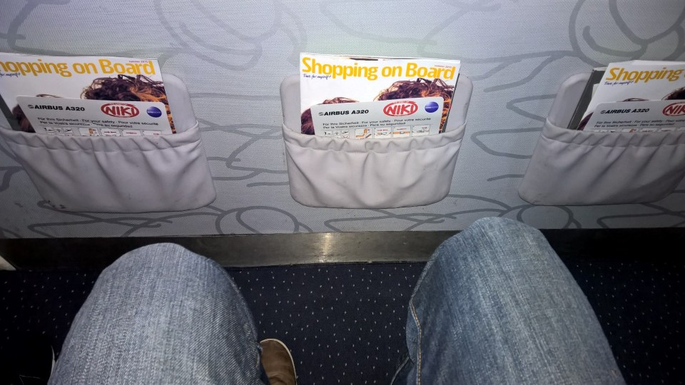 Niki Airbus A320 Seat Pitch