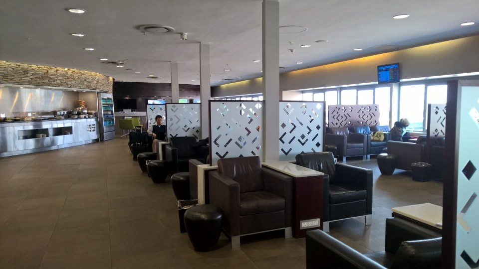 Baobab Business Lounge Johannesburg Seating