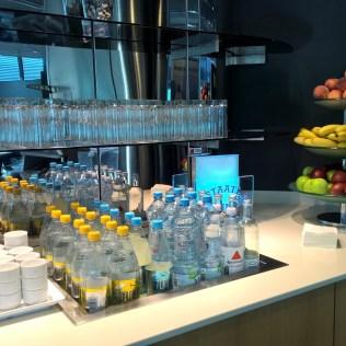 Lufthansa Business Lounge Frankfurt B44 Buffet