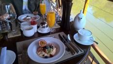 Zulu Camp at Shambala Breakfast